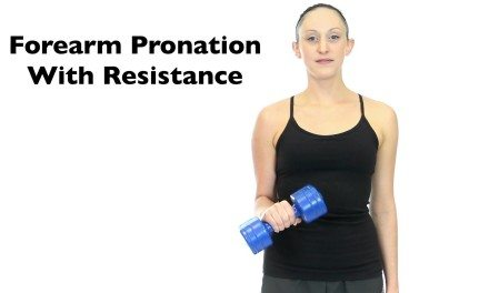 Forearm Pronation With Resistance