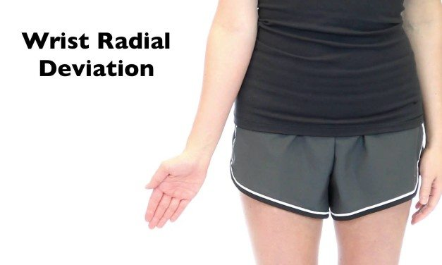 Wrist Radial Deviation
